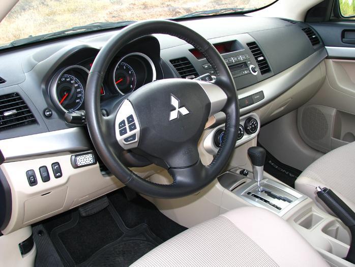 מודרניסטית מבחן: מיצובישי לנסר 1.5 ל' - וואלה! רכב YY-33