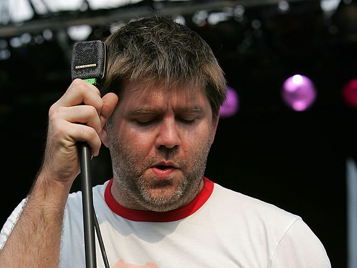 ג'יימס מרפי מלהקת LCD Soundsystem (GettyImages , James Murphy)