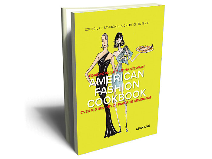 "עטיפת הספר American Fashion Cookbook (יח""צ)"