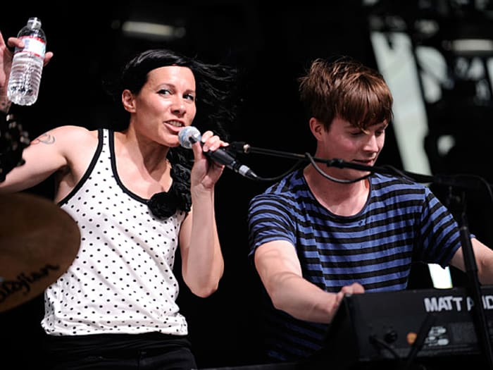 Matt & Kim (GettyImages , Charley Gallay)