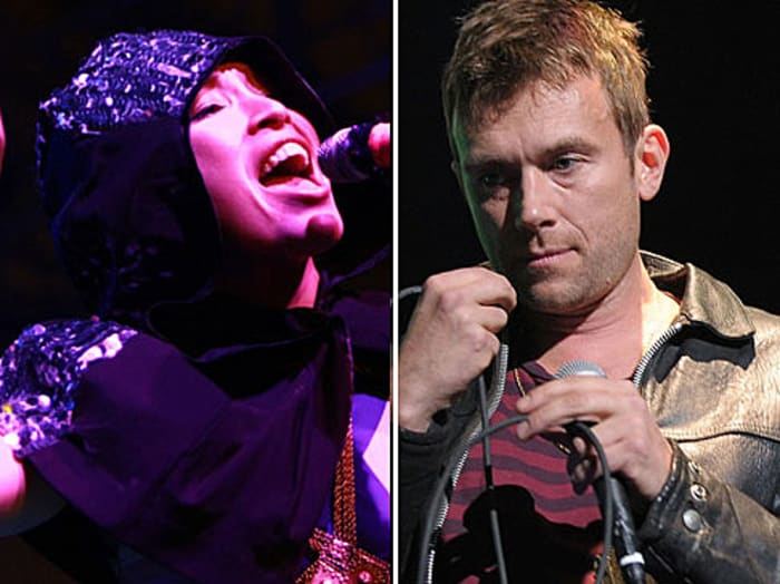 Gorillaz ft Little Dragon (GettyImages , Michael Loccisano, Anna Webber)