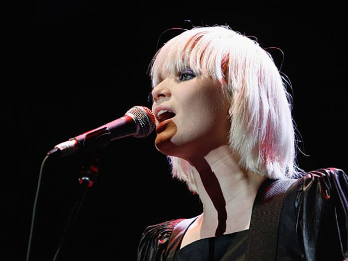 שארין פו מלהקת The Raveonettes (GettyImages , Jo Hale)