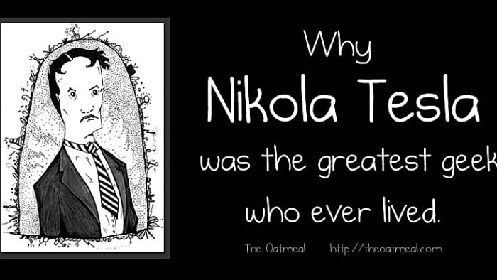 why nikola tesla was the greatest geek who ever lived (צילום מסך)