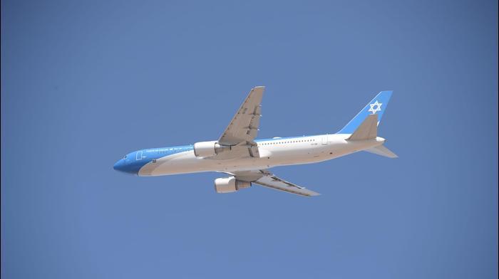 """טיסת הבכורה של מטוס ראש הממשלה,  נתב""""ג\ 3 בנובמבר 2019"""