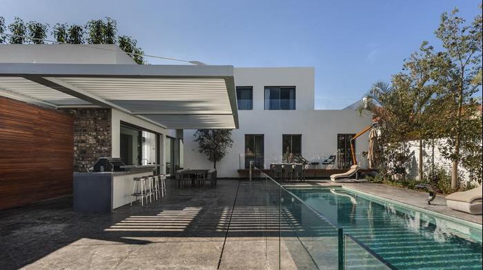 מחד קומתי לדו קומתי שיפוץ בית בשרון עיצוב פנים ואדריכלות דורית סלע