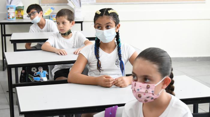 """פתיחת שנת הלימודים תשפ""""א בבית ספר שיפר, פתח תקווה, 1 בספטמבר 2020"""