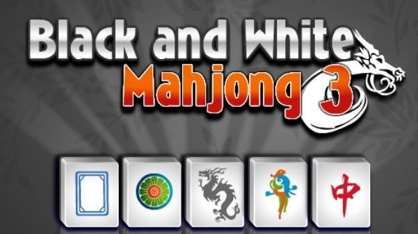 מהג'ונג שחור לבן. וואלה! כיף
