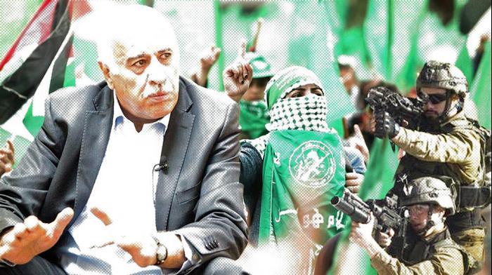"""ג'יבריל רג'וב, יו""""ר התאחדות הכדורגל הפלסטינית, רמאללה 11 בדצמבר 2016. רויטרס, דובר צהל, יותם רונן"""