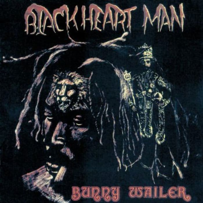 "עטיפת האלבום "" Blackheart Man"" של Bunny Wailer (סריקה)"