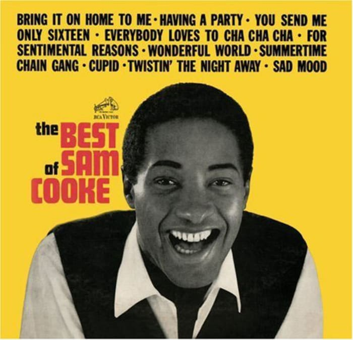 "עטיפת האלבום "" The Best of Sam Cooke "" (סריקה)"
