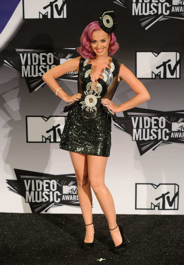 קייטי פרי בטקס פרסי MTV (GettyImages , Jason Merritt)
