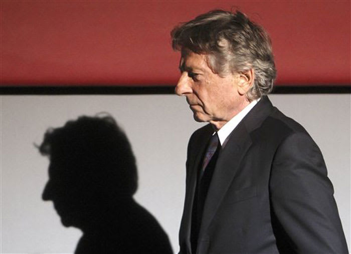 רומן פולנסקי, בטקס פרסי הקולנוע בציריך (AP)