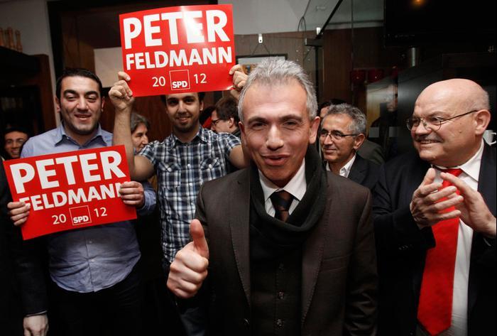 פטר פלדמן, ראש העיר פרנקפורט. מרץ 2013 (רויטרס)