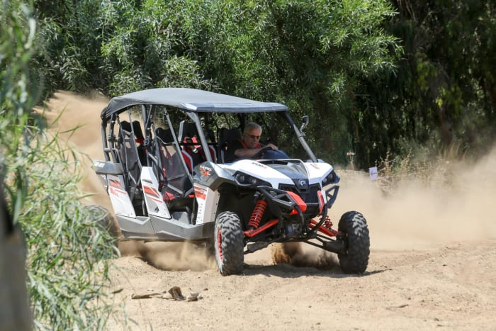 השקה קאן אם מווריק Can-Am Maverick 1000 (מערכת וואלה! NEWS , רונן טופלברג)