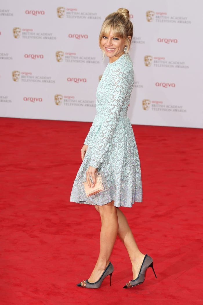סיינה מילר בטקס פרסי BAFTA, לונדון, מאי 2013 (GettyImages , Tim P. Whitby)