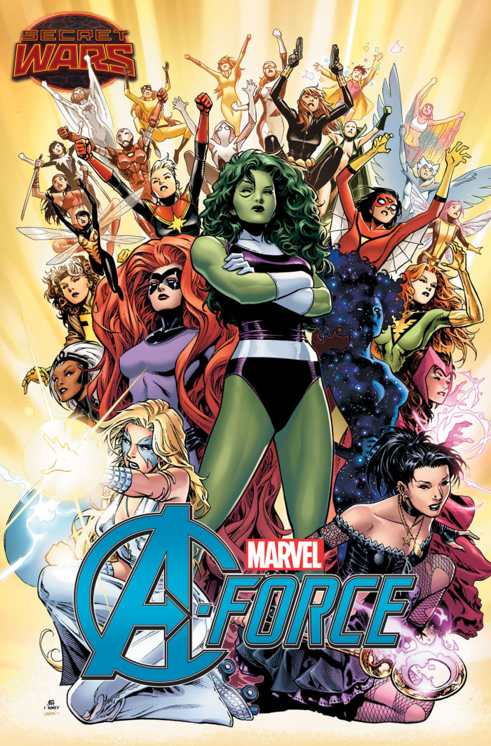 A-Force (צילום מסך , Marvel Comic)