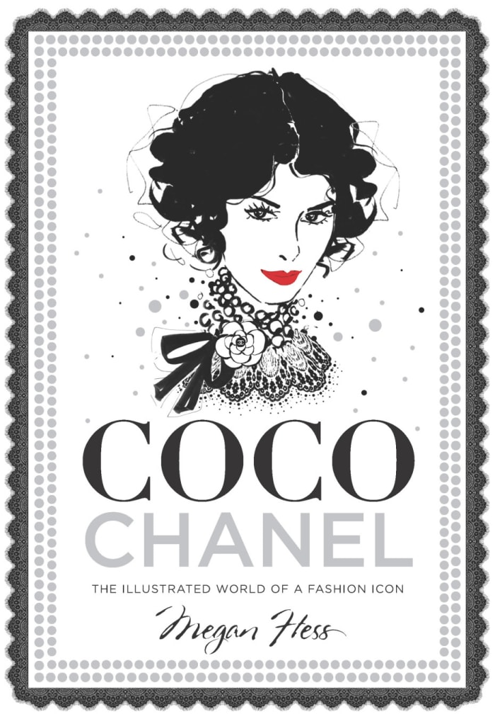 הספר Coco Chanel -The Illustrated World of a Fashion Icon מאת מייגן הס, 2015 (צילום מסך)