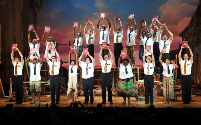 the book of Mormon (GettyImages)