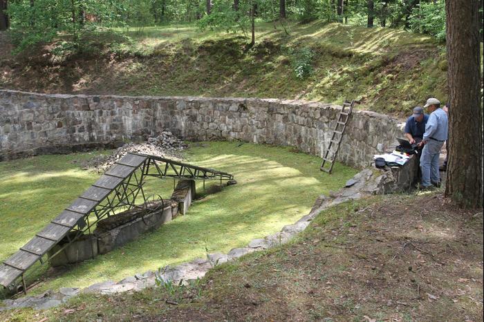 הגשר באתר פונאר בליטא (מערכת וואלה! NEWS , Ezra Wolfinger)