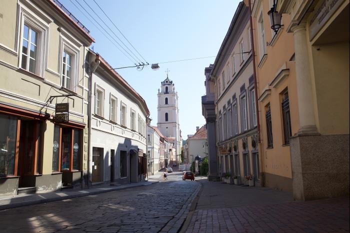 רחוב דומיניקן המודרני כיום פונאר בליטא (מערכת וואלה! NEWS , Ezra Wolfinger)