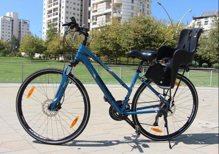 נפלאות מבחן: אופניים היברידיים, MERIDA CROSSWAY 40 - וואלה! רכב JQ-61