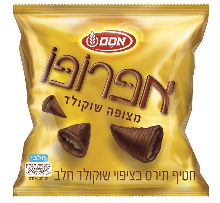 אפרופו מצופה שוקולד