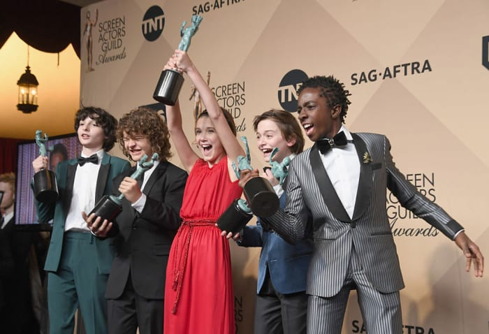 stranger things, סאג 2017 (GettyImages)
