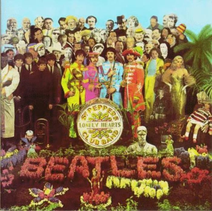 עטיפת האלבום sargent pepper's lonely hearts club band (מערכת וואלה! NEWS)