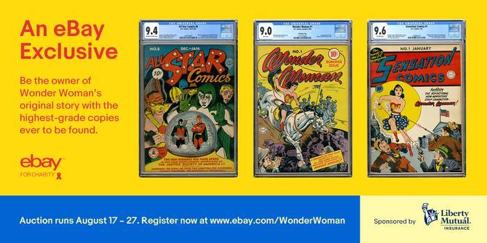 מעולה  שיא נוסף לוונדר וומן? שלוש חוברות קומיקס נדירות יימכרו באיביי TB-83