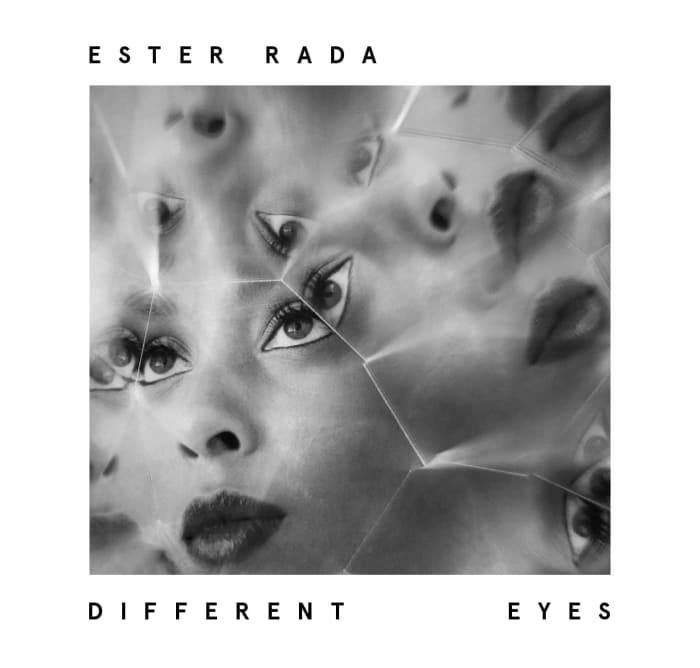 "עטיפת אלבומה של אסתר רדא, ""DIFFERENT EYES"" (יח""צ)"