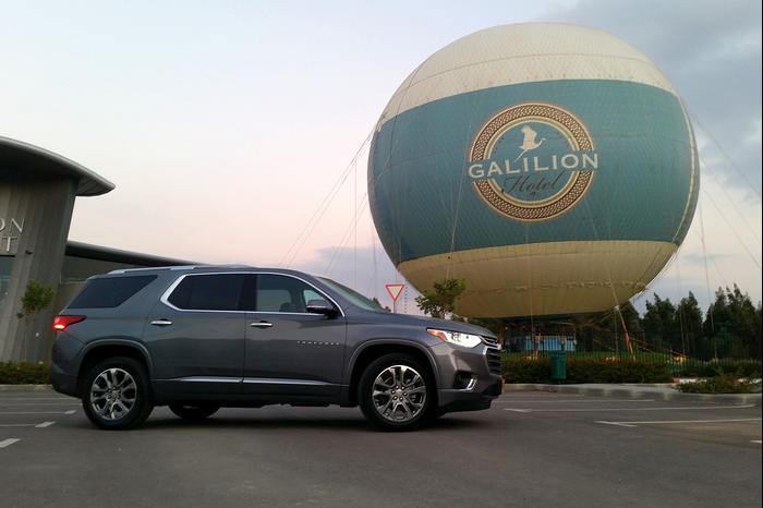 ברצינות אמריקן דאבל: נהיגה בשברולט איקווינוקס ו-טראוורס החדשים - וואלה! רכב SA-17
