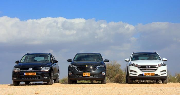 מדהים טרפת קרוסאוברים: כמה רכבי כביש-שטח נמכרו בישראל מתחילת 2018 VV-06