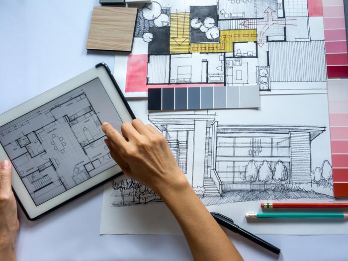 תכנון שיפוץ ביתי (ShutterStock)