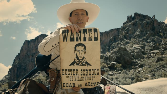 "The Ballad of Buster Scruggs (יח""צ , פסטיבל ונציה)"