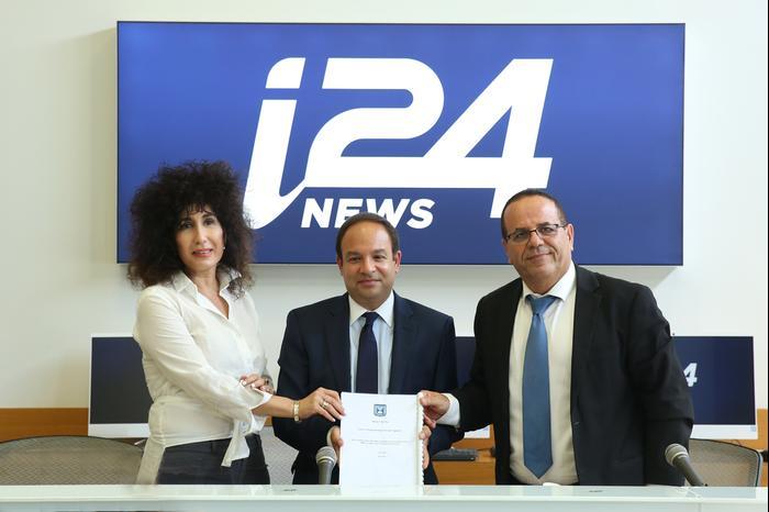 """i24NEWS החל לשדר בישראל; """"הערוץ הרביעי יהיה בעברית"""""""