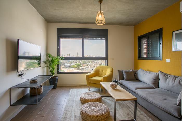 ענק דירה בפרויקט סטודנטים בבאר שבע - וואלה! בית ועיצוב WB-41