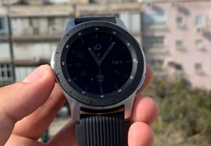 Samsung Galaxy Watch (מערכת וואלה! NEWS , מייקי לוי)
