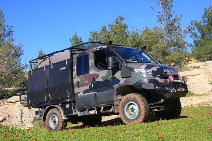 נפלאות איווקו דיילי לטיולי שטח - וואלה! רכב DT-81