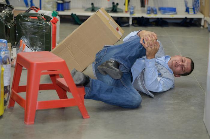 תאונת עבודה (ShutterStock)