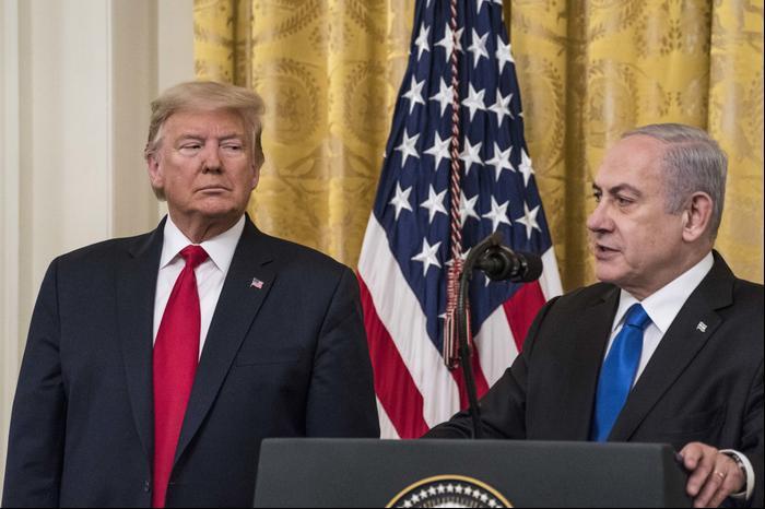 Дональд Трамп и Биньямин Нетаниягу