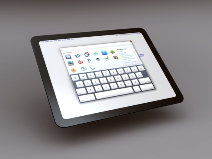 "Chrome OS Tablet (יח""צ)"