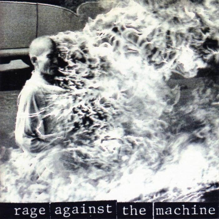 עטיפת האלבום Rage Against The Machine (סריקה)