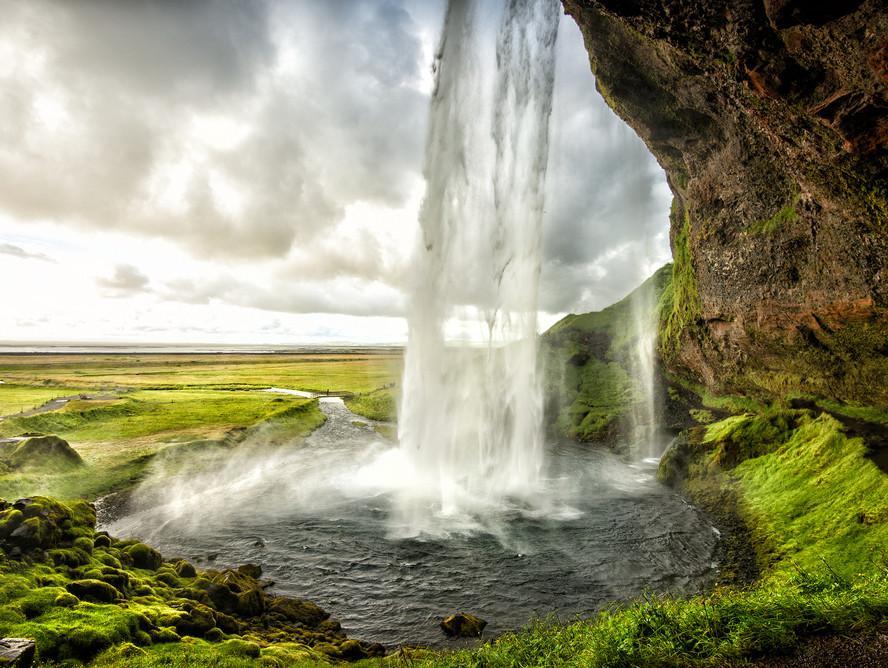מפל סליאלנסדפוס, איסלנד